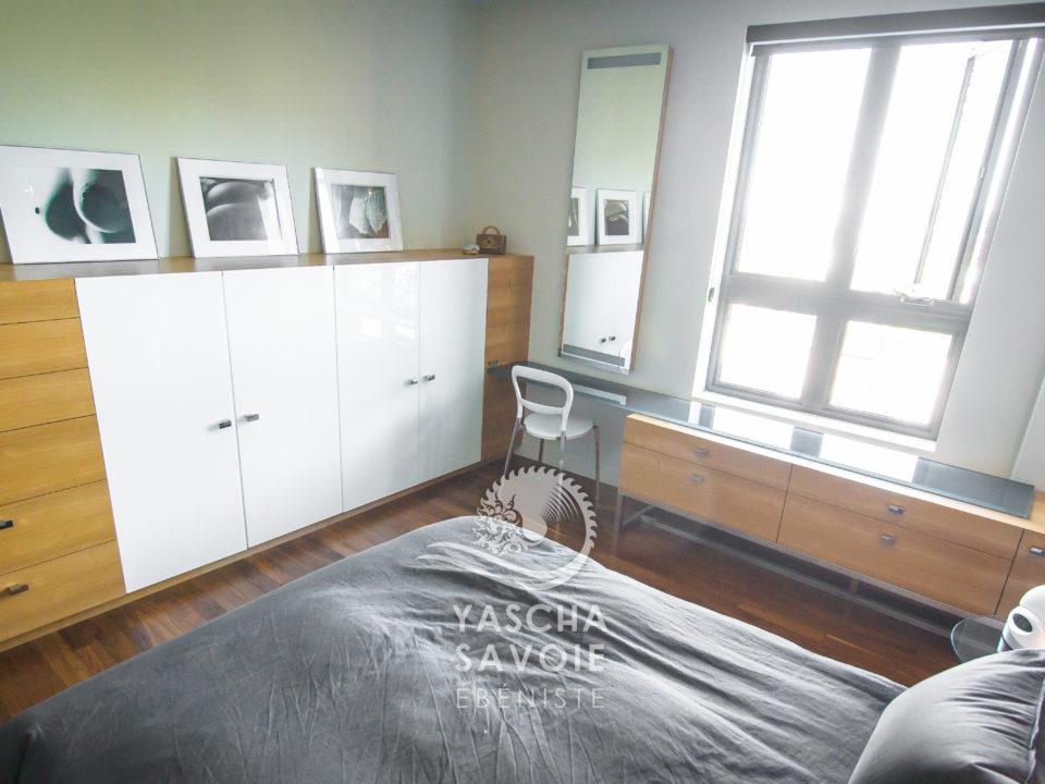 Ensemble de chambre à coucher, meubles sur mesure - Yascha ...